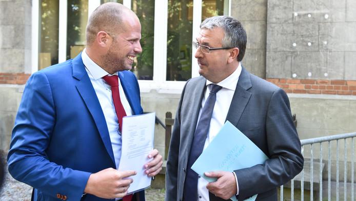 Theo Francken et Pierre-Yves Jeholet