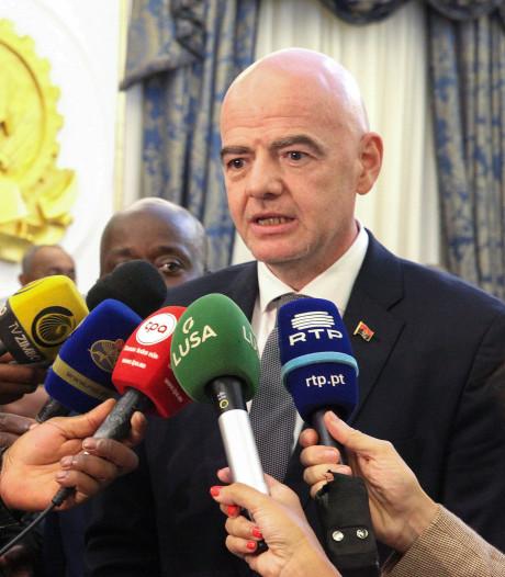 FIFA-baas Infantino voorgedragen als IOC-lid