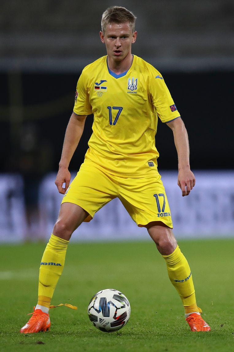 Oleksandr Zintsjenko is populair in Oekraïne. Natuurlijk vanwege zijn kwaliteiten, maar ook om zijn soms wat dwarse karakter. Beeld Getty Images