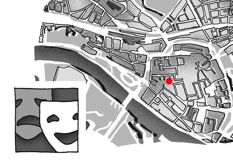 Theater aan de Rijn en De Nieuwe Oost (theaterexperiment). Beeld Melissa de Gier