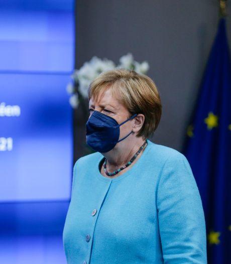 Geen meerderheid plan Merkel voor EU-top met Poetin