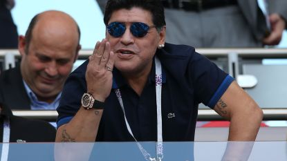 Na de farce op het WK en zoveelste mislukking in Wit-Rusland: Maradona weer ergens anders aan de slag