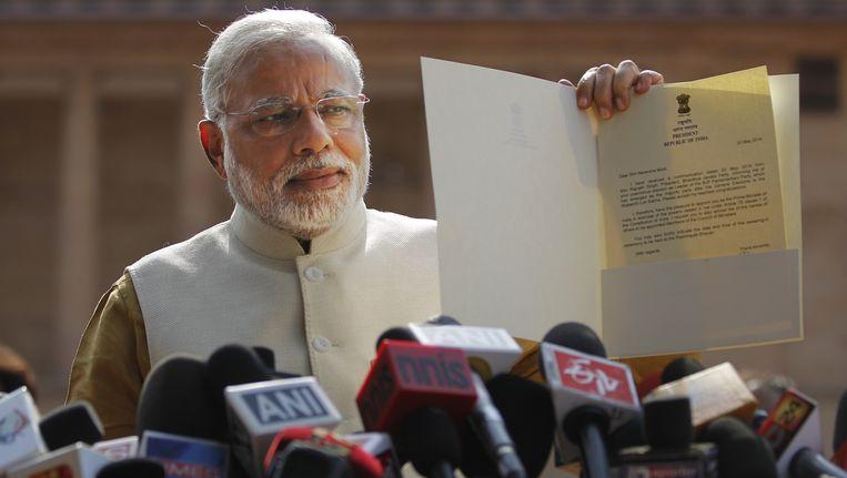Narendra Modi. Beeld AP