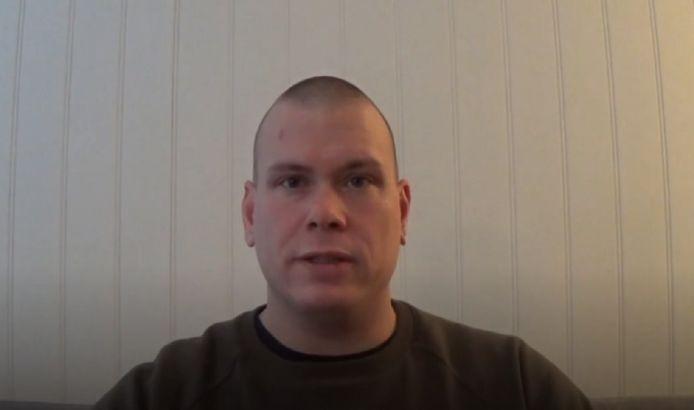 Espen Andersen Bräthen, de Deense boogschutter, in zijn videoboodschap van 2017.