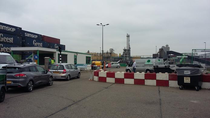 De huidige milieustraat Bergen op Zoom is te klein. Uitbreiden gaat niet.
