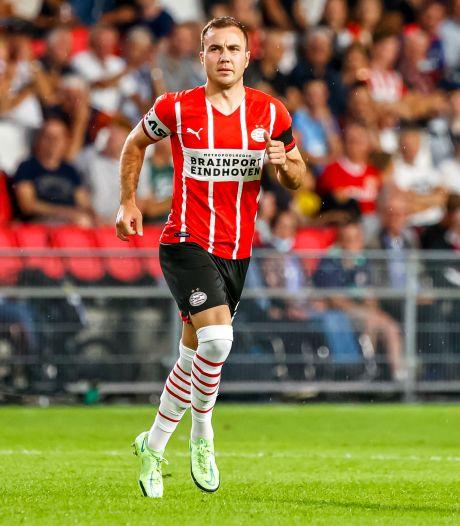 Mario Götze weet niet of PSV-fans naar oproep van Hugo de Jonge luisteren