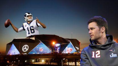Een stadion van 1,6 miljard dollar, 325 miljoen liter bier en recordman Brady: de soms hallucinante cijfers achter de 53ste Super Bowl