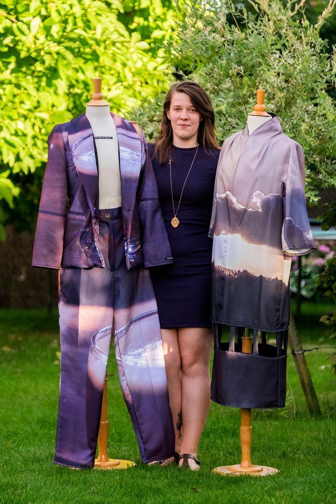 Silke Mattheeusen volgt modetechnologie en een extra opleiding modeontwerper.