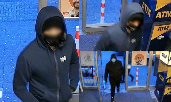 De verdachten van de overval bij het geldwisselkantoor op de Dierenselaan in Den Haag