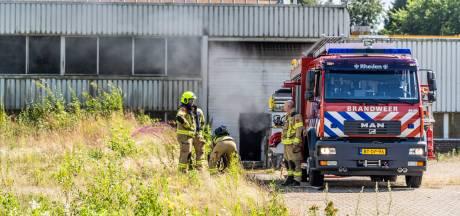 Brand in bedrijfspand in Rheden mogelijk aangestoken