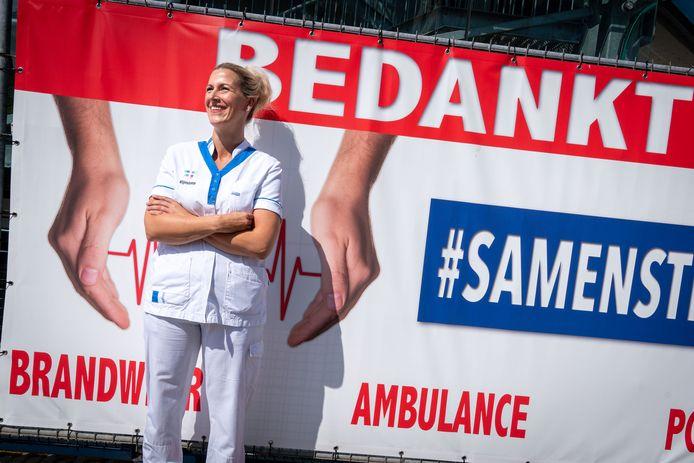 IC-verpleegkundige Linda Scholten.