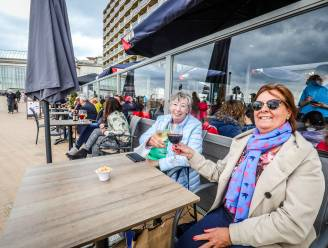 En toen kwam Oostende een beetje meer tot leven: terrassen lopen goed vol op eerste dag