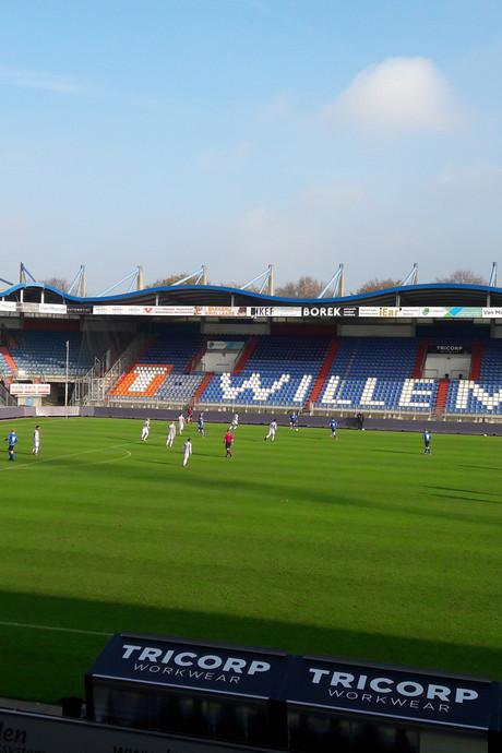 FC Den Bosch verliest geheim oefenduel bij Willem II