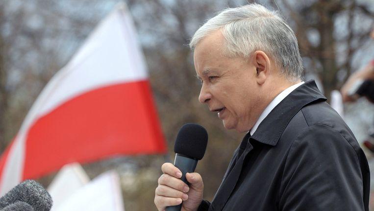Jaroslaw Kaczynski Beeld afp