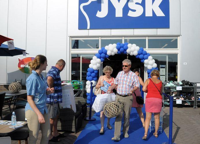 Jysk opende in 2017 de winkel in Oostburg.