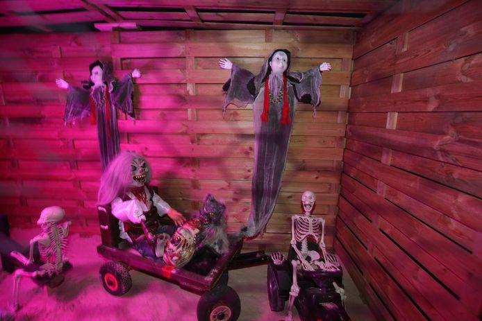 Halloween Koksijde Sint Idesbald: horror labyrinth