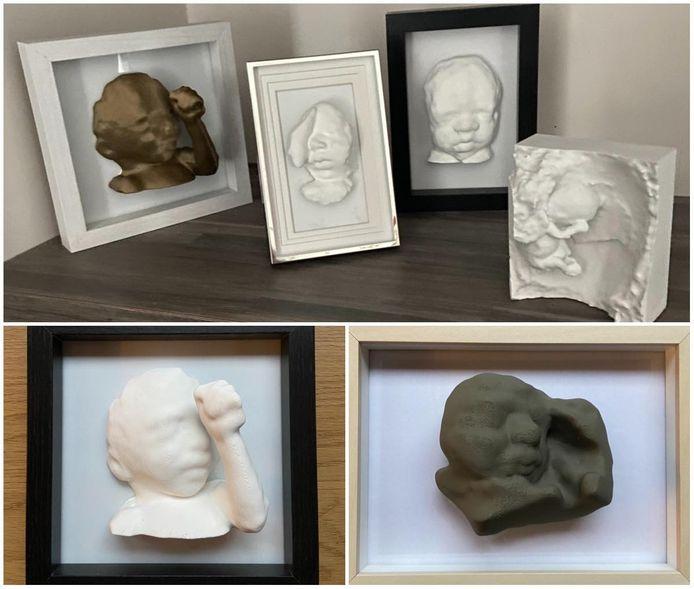 Enkele voorbeelden van het werk van Tessa
