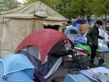 Occupy Wall Street maakt zich op voor strenge winter