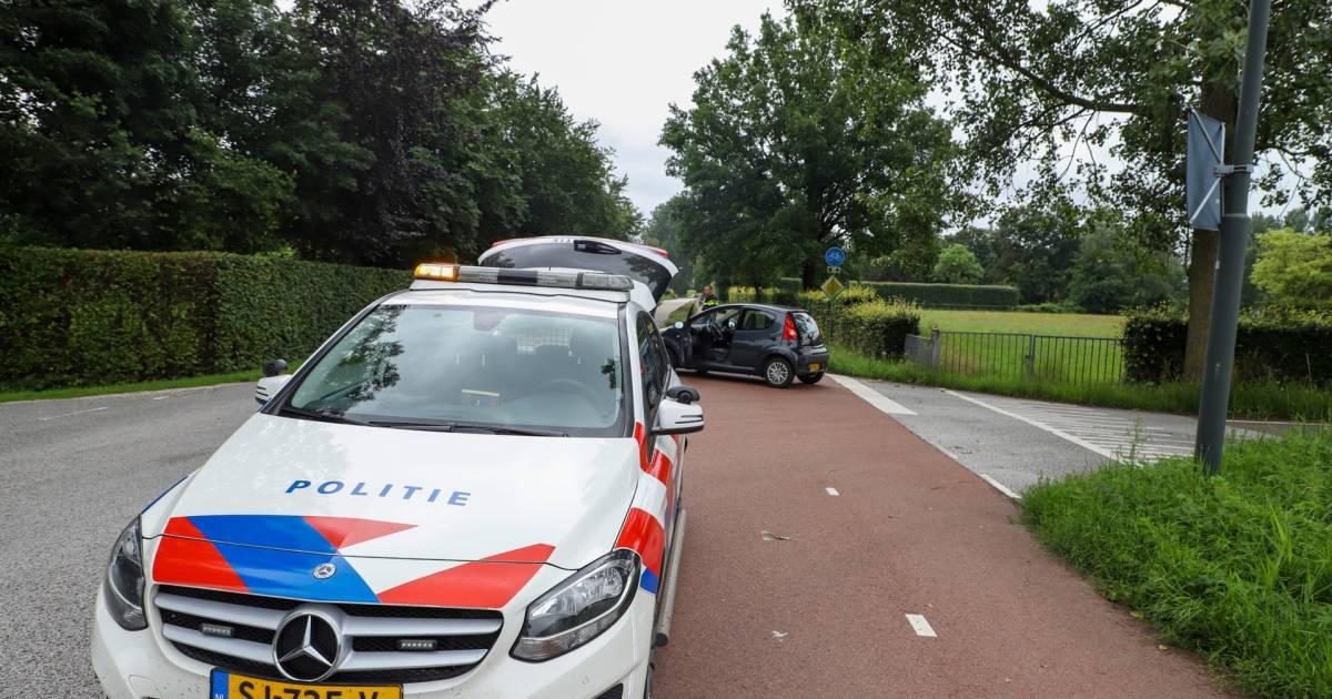 Fietser gewond na aanrijding in Liempde.