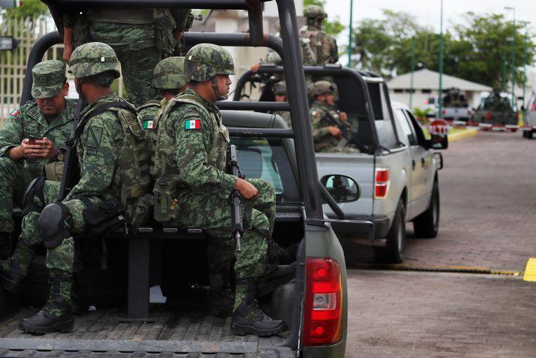 Mexico stuurt bij elkaar 6.000 manschappen van de nationale garde naar de zuidelijke grens.