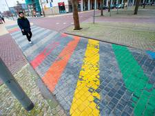 Sneeuw tast 'gaybrapad' in Apeldoorn flink aan