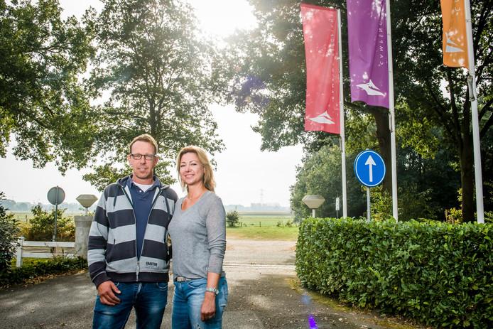 Marco Jansen en Sheila Jansen van camping Bergzicht in Markelo hebben camping de Kattenberg, eveneens in Markelo, overgenomen van de familie Beld.