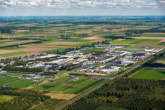Het enorme datacentrum van 166 hectare in Zeewolde moet aansluiten op het huidige bedrijventerrein Trekkersveld.