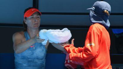 """Onze man in Melbourne over de 'pipi nerveux' van Sharapova: """"Misschien ook een shotklok in de wc hangen?"""""""