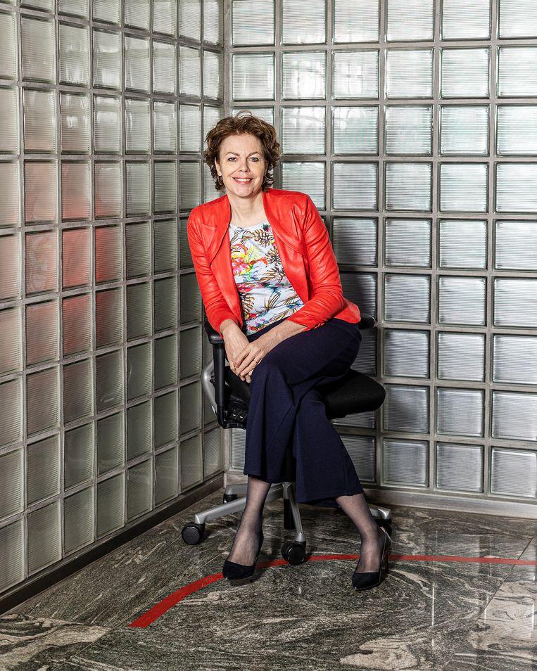 De nieuwe voorzitter van werkgeversorganisatie VNO-NCW Ingrid Thijssen. Beeld Jiri Büller
