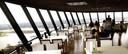 Het interieur van het Euromast-restaurant werd ingrijpend veranderd door Jan des Bouvrie.