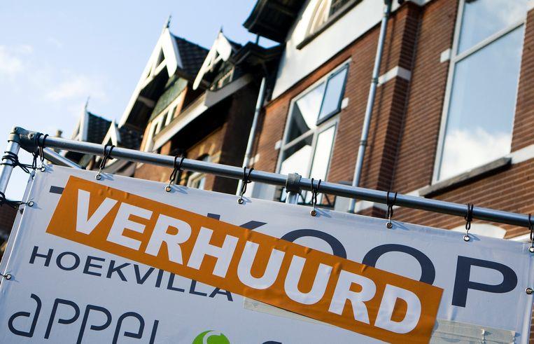 Via onze site vinden verhuurders snel een huurder, zegt Rebid.nl. Die site jaagt de prijzen op, zeggen critici. Beeld ANP