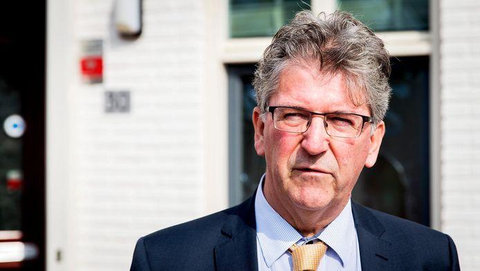 Burgemeester Edo Haan van Maassluis.