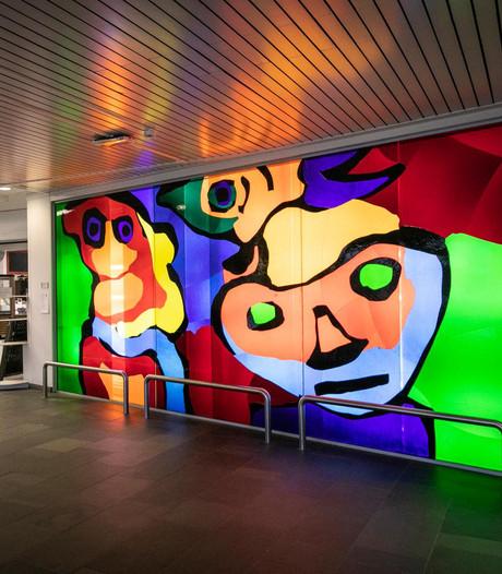 Gemeente eist 15 kunstwerken uit MC Slotervaart terug