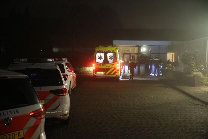 Steekpartij in Oosterhout.