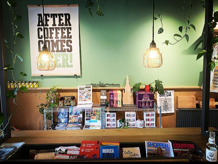 Shop -in-shop: Alles over Breda is dankzij InBreda te krijgen bij CoffeeLab.