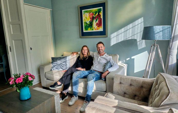 Het huis van Mark en Suzan den Boer: de huiskamer
