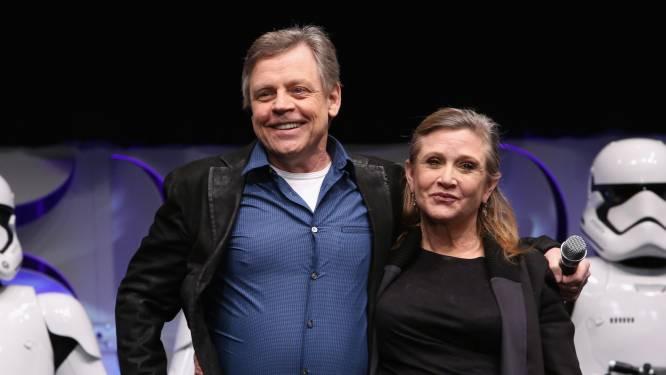 Mark Hamill blij met plekje voor 'Star Wars'-collega Carrie Fisher op Walk of Fame