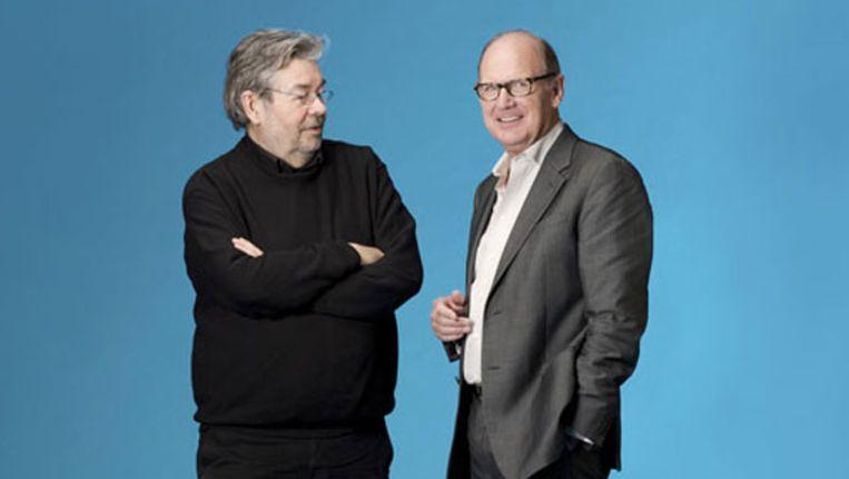 Maarten van Rossem en Philip Freriks Beeld NCRV