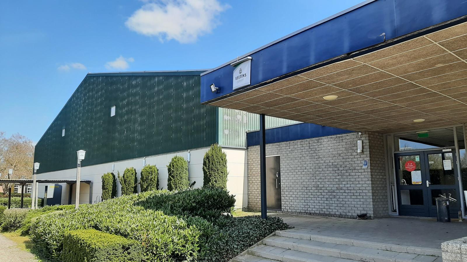 De vaccinatiecapaciteit in sportcomplex De Braken in Boxtel is volgens de GGD Hart voor Brabant 1100 prikken per dag.