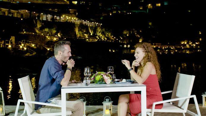 Marijn & Candice flirten volop in 'Blind Getrouwd'