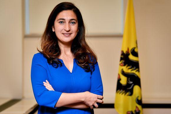 Vlaams minister voor Energie Zuhal Demir (N-VA).