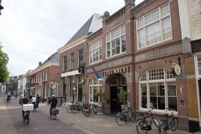 Coffeieshop Columbus in de Vijhestraat in Harderwijk.