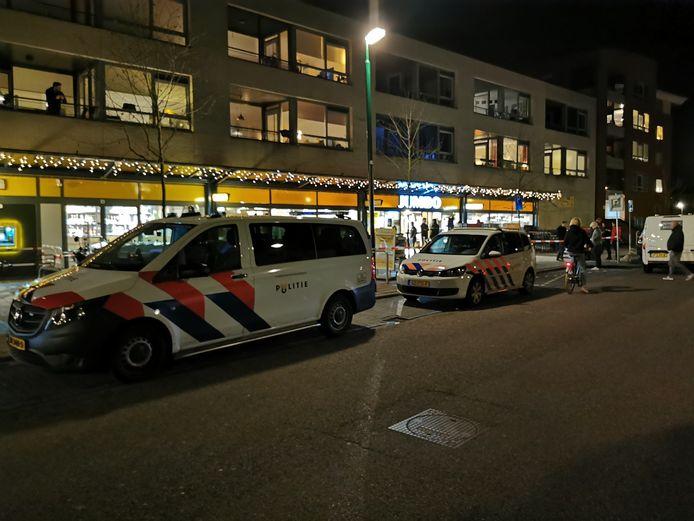 De Jumbo in Veenendaal is overvallen.