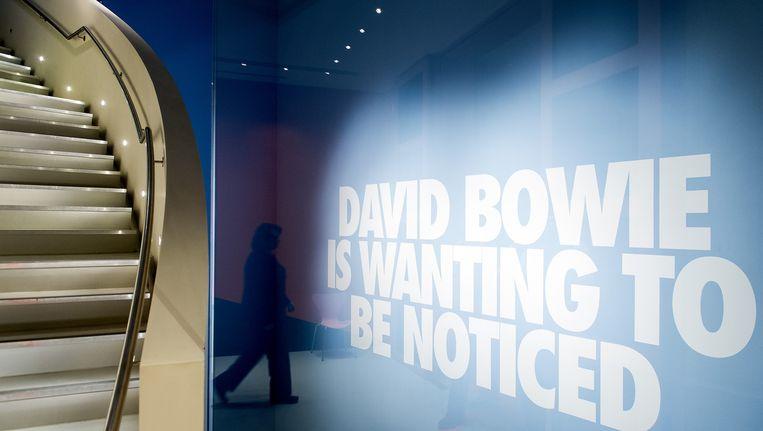 De tentoonstelling 'David Bowie is' in het Groninger Museum Beeld ANP