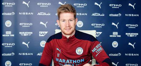 Kevin De Bruyne prolonge à Manchester City en signant le plus gros contrat de l'histoire du club