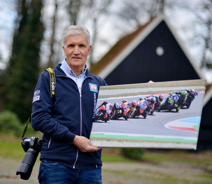 Ben Haarhuis met misschien wel zijn mooiste foto: gemaakt tijdens de TT van 2018.