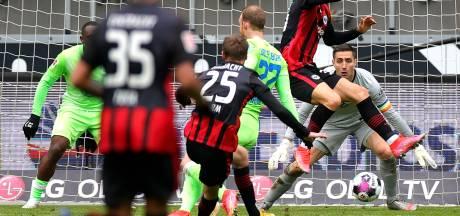 Wolfsburg et Casteels perdent le choc à Francfort