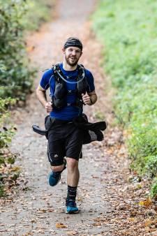 100 kilometer hardlopen voor zieke vriendin: Danny uit Didam deed het