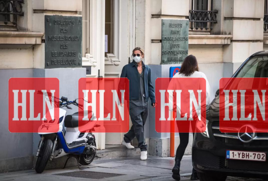 Brad Pitt is in Brussel.