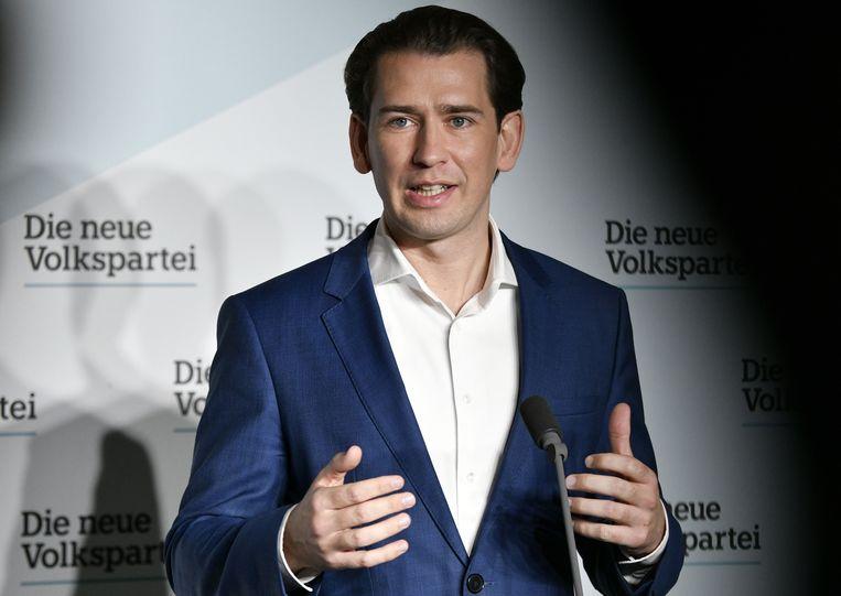 Pak ook de 'misleiders' aan, zei de Oostenrijkse president Kurz na de aanslag in Wenen. Beeld AFP